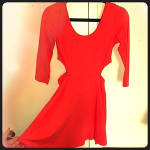 NWT little red dress